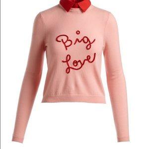 Alice + Olivia - Big Love Cashmere Sweater - Large